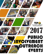 Public Involvement Outreach Events cover!